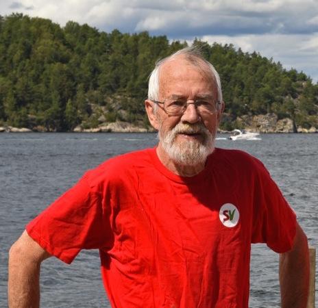 Si ja til flere flyktninger NÅ! Per Svendsen, listekandidat nr 8 med appell til kommunestyret.