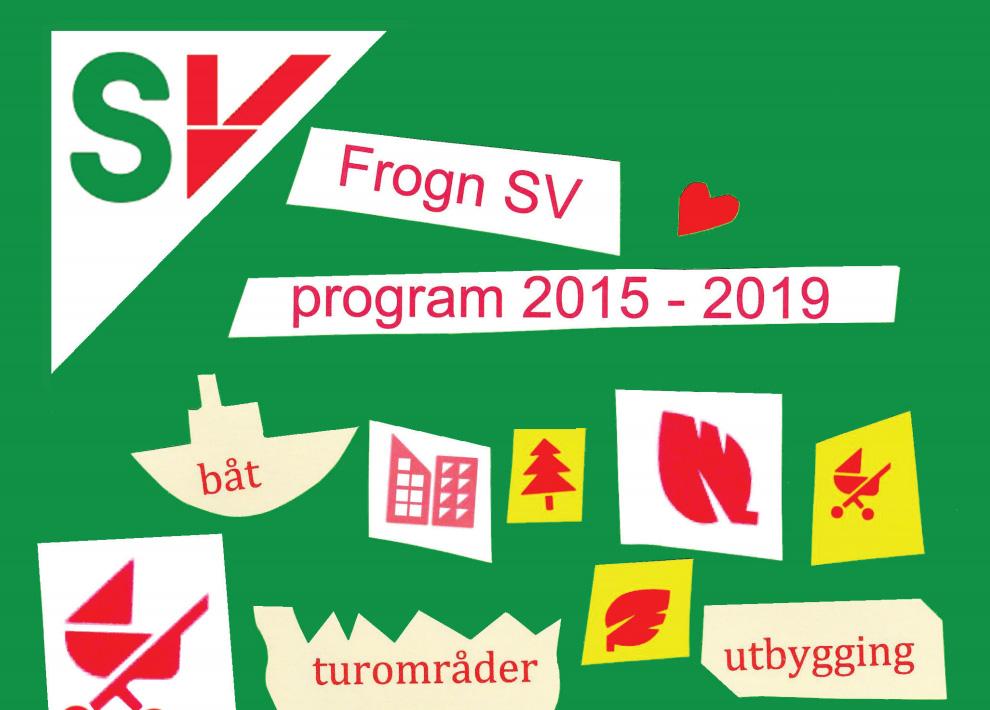 Frogn SV sitt program for kommunevalget 2015